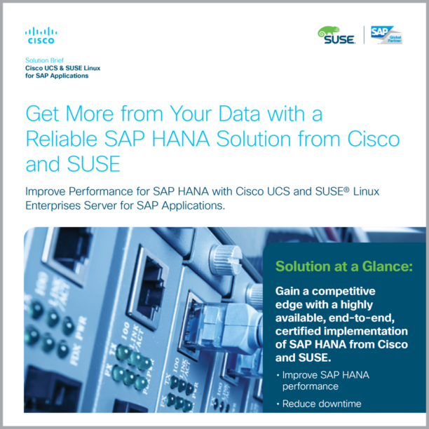 SUSE-Cisco - Partner Marketing